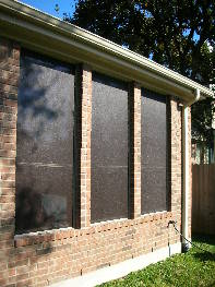 Solar Screens – Chocolate 90% Solar Window Screen Fabric